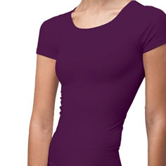 cass cap sleeve shaper top (berry)
