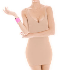 cass invisibellas amp dress straight back (nude)