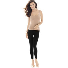 cass wear repair skinny tank (nude)