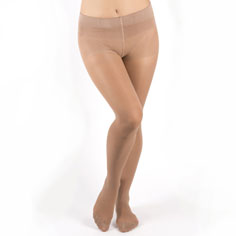 ccv flat tummy tights (beige)