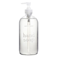 common good hand soap glass bottle (balsam vetiver)
