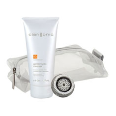 gift: clarisonic normal brush head+gentle hydro cleanser