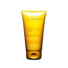 clarins sunscreen for face wrinkle control cream spf50