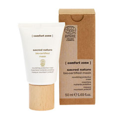 comfort zone sacred nature nourishing protective mask