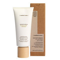 comfort zone sacred nature nourishing protective cleansing milk