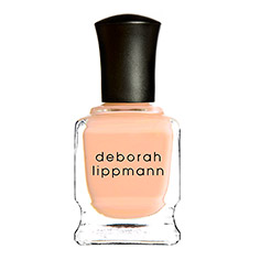 deborah lippmann nail lacquer (tip toe through the tulips)