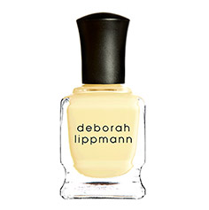 deborah lippmann nail laquer (build me up buttercup)