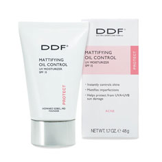 ddf mattifying oil control uv moisturizer spf 15