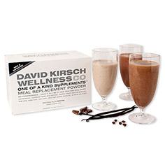 david kirschs protein plus meal replacement powder