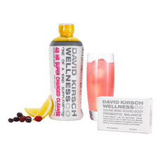 david kirsch 48 hr super charged cleanse and probiotic balance set
