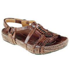 kalsØ earth® embrace sandal (brown)