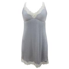 eberjey lady godiva chemise (slate)