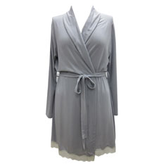 eberjey lady godiva robe (slate)