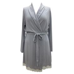 eberjey lady godiva robe (slate)