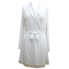 eberjey lady godiva robe (white)