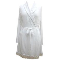 eberjey lady godiva robe (white)