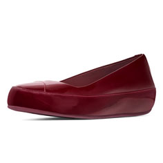 FitFlop Due (cherry patent)