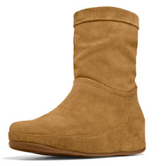 FitFlop Crush Boot (brown sugar)
