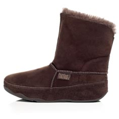 fitflop mukluk (chocolate)