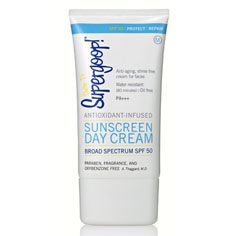 supergoop! spf 50 antioxidant infused sunscreen day cream 2.4 oz