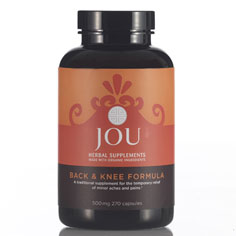 jou back & knee formula herbal supplement