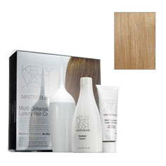 kelly van gogh master blend multi-dimensional luxury hair colour (8V medium cool blonde)