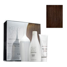 kelly van gogh master blend multi-dimensional luxury hair colour (3N medium neutral brown)