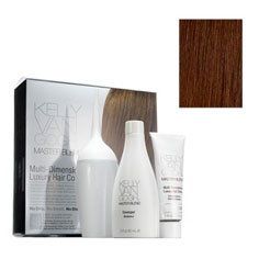 kelly van gogh master blend multi-dimensional luxury hair colour (4G light golden brown)