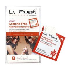 la fresh acetone-free nail polish remover