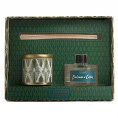 illume balsam & cedar gift set