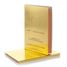 mai couture vitamin c+e blotting paper