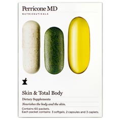 n.v. perricone skin and total body supplements
