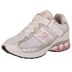 ngr (no gym required) fitness shoe white/pink