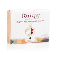pomega5 bulgarian rose moisturizing bar