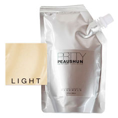 prtty peaushun skin tight body lotion 8 oz (light)