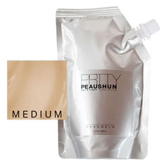 prtty peaushun skin tight body lotion 8 oz (medium)