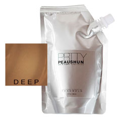 prtty peaushun skin tight body lotion (deep dark)