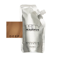 prtty peaushun skin tight body lotion travel size (deep dark)