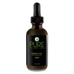 pure inventions green tea extract dietary supplement (peach)