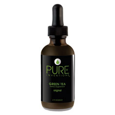 pure inventions green tea extract dietary supplement (original)