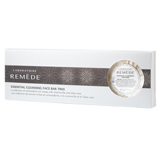 laboratoire remède essential cleansing face bar trio