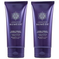 laboratoire rem&egrave;de hydra therapy cleansing cr&egraveme set of 2