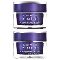 laboratoire rem&egrave;de hydra therapy eye cr&egrave;me set of 2