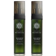 laboratoire remède matte therapy moisture lift gel-lotion set of 2