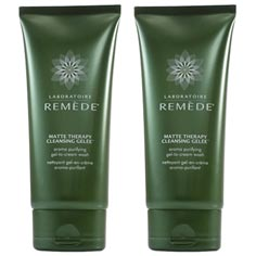 laboratoire rem&egrave;de matte therapy cleansing gel&eacute;e set of 2