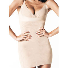 resultwear victoria full mesh smoothing slip (nude)