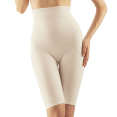 farmacell high-waist skin softening and cellulite smoothing milk shorts