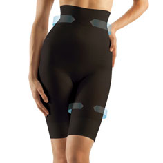 farmacell® high-waist shaping shorts (black)