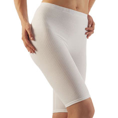 farmacell classic cellulite smoothing shorts (white)