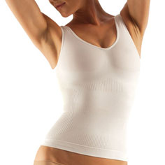 farmacell classic cellulite smoothing tank (white)